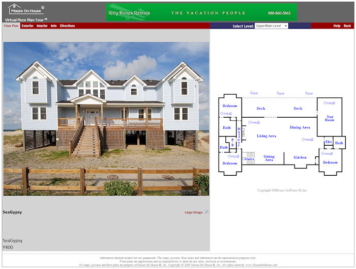 Rental Virtual Floor Plan Tour